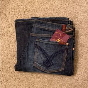 NWT 7FAM Flare Jeans